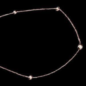 Jewelry - 3.5 carat necklace rose gold pendant diamonds yard